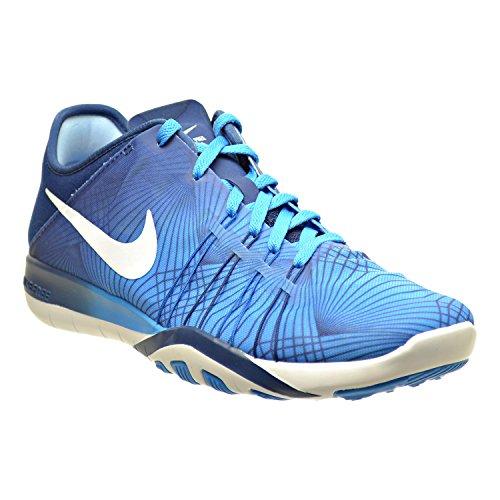 Nike Scarpe Da Donna Gratis Tr 6 Stampa Scarpe Da Ginnastica Blu