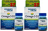 omega 3 and d3 - Ocean Blue Professional Omega 3 MiniCaps with Vitamin D3   Fish Oil   No Fishy Taste (2-Pack)
