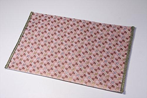 Yamako Buddhist Flame Retardant Sheet Safety Mat Pink by Yamako