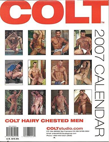 Colt Hairy Chested Men 2007 Calendars Colt Studio Group