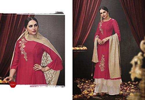 Personalizza pakistano desai Party musulmana 2531 donne indiano Bollywood prachi indiano misurare abito Wear Straight vestito Salwar designer Suit per rw4Xqvr