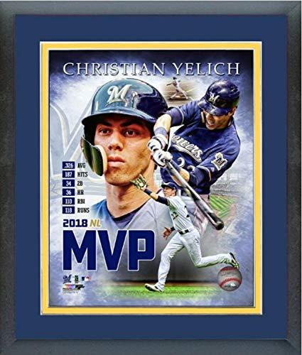 waukee Brewers 2018 MVP MLB Composite Photo (Size: 13