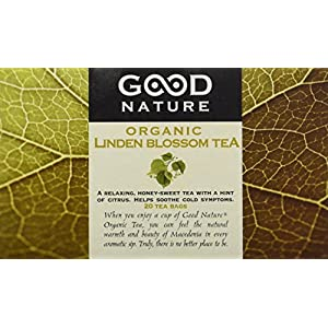 Good Nature Organic Linden Blossom Tea, 1.07 Ounce, 20 tea bags