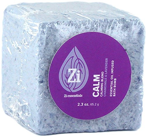 Sleep Ease Lemongrass Body Wash (Calm Calming Blend (Chamomile & Lavender) Bath Bomb. 2.3oz Block - Zi…)