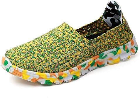 ゴムバンドフラットヒールスリップスニーカー女性と男性の運動靴のスニーカー 快適な男性のために設計