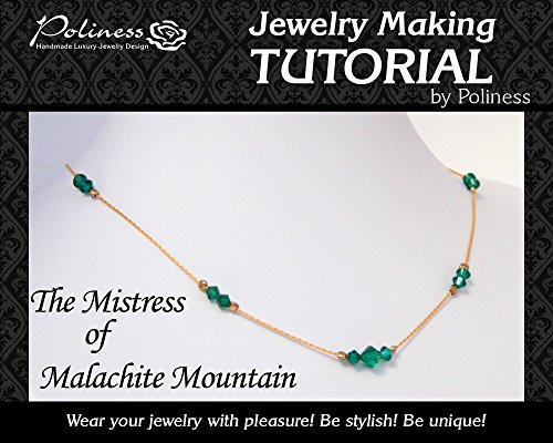 DIY Jewelry making Tutorial Swarovski Necklace, Practical Step by step Guide on How to make Handmade Chain with ()