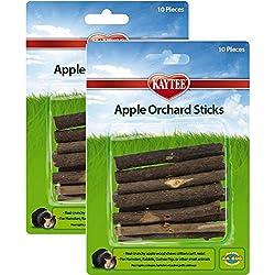 SuperPet Apple Orchard Sticks (20 Pieces)