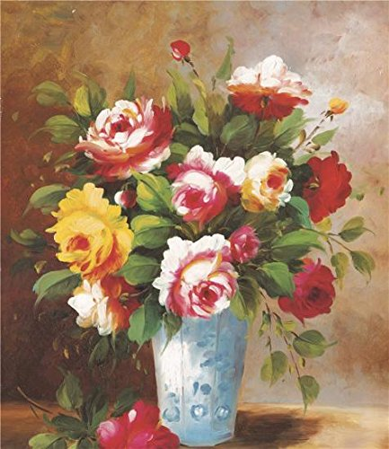 ['Flowers In The Vase' Oil Painting, 18x21 Inch / 46x53 Cm ,printed On Perfect Effect Canvas ,this Reproductions Art Decorative Prints On Canvas Is Perfectly Suitalbe For Bathroom Gallery Art And Home Gallery Art And] (Turkeys Go On Strike Costumes)