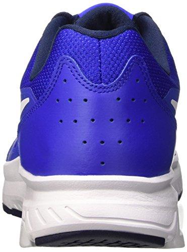 Nike Dart 11 Zapatillas de running, Hombre Azul / Blanco (Racer Blue/White-Mid Nvy-White)