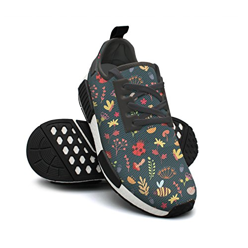 and Lightweight Sneaker Cute Sneaker Baby Mesh Bee Womens Fashion Retro Forest Breathable Rat4w4xq