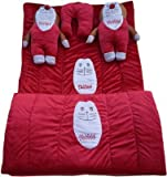 Homecrust Kids Baby Bedding Set Of 5 Pcs - Red