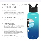 Simple Modern Insulated Water Bottle with Straw Lid