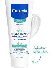 Mustela Stelatopia Emollient Cream - Fragrance-Free - for Eczema-Prone Skin, 200 mL