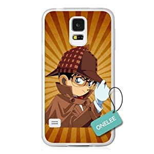 Onelee(TM) Detective Conan For Case Iphone 4/4S Cover - Japanese anime Case Closed Cover - Transparent
