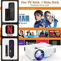 Dr J Professional Hi 04 1080p Supported 4inch Mini Projector With 170 Display 40 000 Hours Led Full Hd Video Projector Compatible With Hdmi Usb Sd Latest Upgrade Amazon Sg Electronics