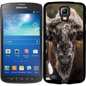 Funda para Samsung Galaxy S4 Active i9295 - Bisonte En Invierno by Grab My Art