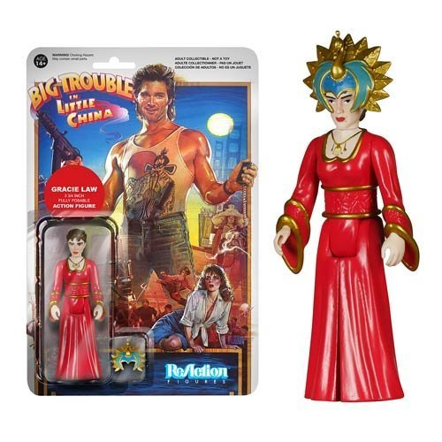 Big Trouble in Little China Gracie Law ReAction 3 3/4-Inch Retro Action Figure by Big Trouble in Little China