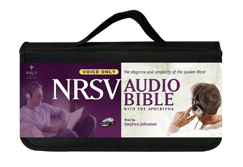 New Revised Standard Version Audio Bible: Voice only, with Apocrypha