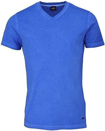 BOSS Tyxx - Camiseta para Hombre, Cuello en V, Color Azul ...