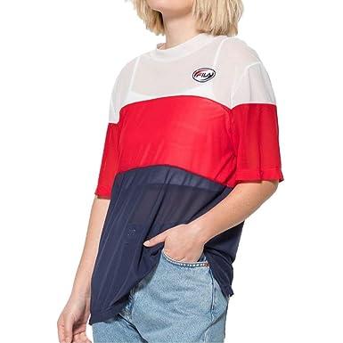 2 Layer Shirt SmallVêtements T Reina Xsx Fila Bleu D9IHeWYbE2