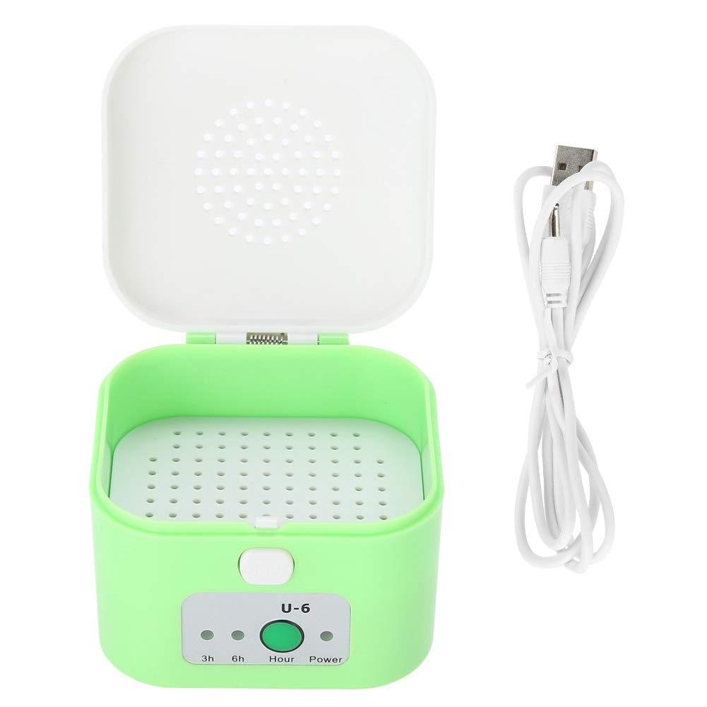 Wandisy Deumidificatore per Cuffie Scatola di Asciugatura elettrica USB Custodia Protettiva per apparecchi acustici a Prova dumidit/à