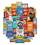 #7: Ultimate Snack Assortment- Chips, Crackers, Cookies, Nuts, Bars - School, Work, Military or Home (40 Count)