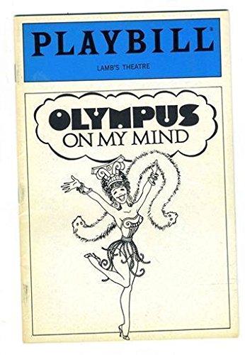 Playbill Olympus On My Mind 1986 Martin Vidnovic Peggy Hewett Lewis Stadlen