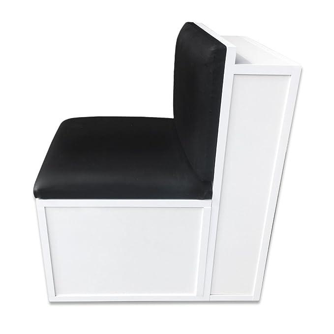 Pelo muebles taburete de manicura y pedicura/carrito de ruedas con uñas cajón: Amazon.es: Belleza
