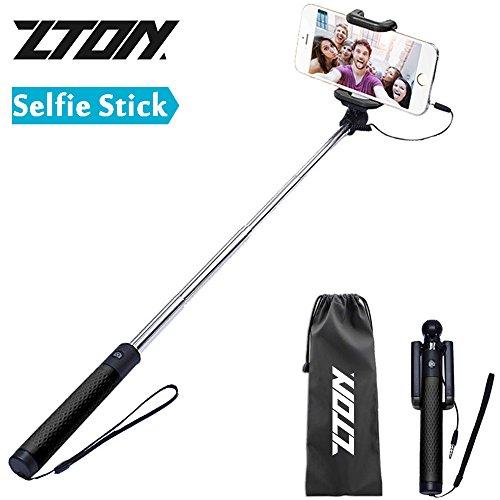 selfie stick zton mini self portrait expandable compact import it all. Black Bedroom Furniture Sets. Home Design Ideas