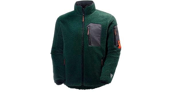 X-Large Helly Hansen 72271/_480-XL Mjolnir Windpile Fleece Jacket Dark Green