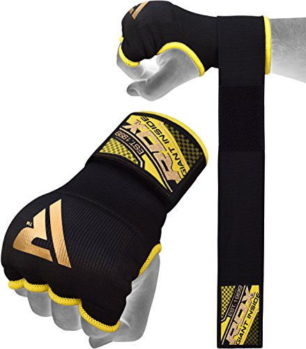 Fitness Inner Gloves: RDX Hand Wraps Boxing Inner Gloves MMA Fist Protector
