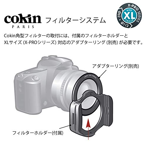 Cokin X-Large X-PRO Gradual ND Filter Kit with Holder - Black by Cokin (Image #4)