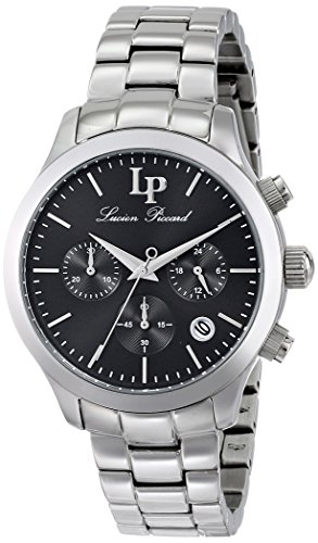 Lucien Piccard Women's LP-12914-11 Coimbra Analog Display Japanese Quartz Silver Watch