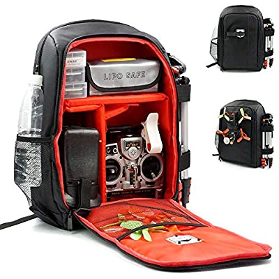 elechawk FPV Racing Drone Quadcopter Backpack Carry Case Bag Tool Box RC Plane Fixed Wing Comparable with Betaflight: Toys & Games