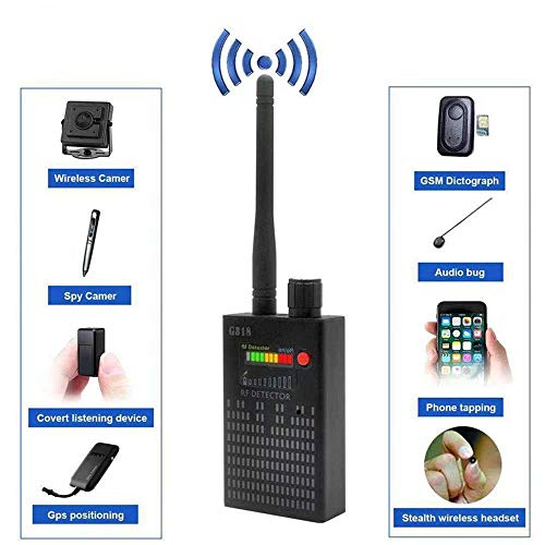 Signal Detector GPS Camera RF Signal Detector Set [Advanced Version],GPS Tracker Wireless Camera Amplification Ultra-high Sensitivity GSM Device Finder