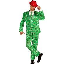 Forum Novelties Men's Candy Cane Costume Suit