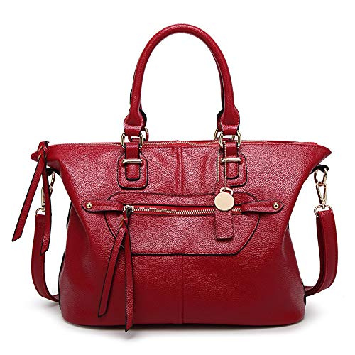 Handbags And One American Slung Shoulder Bag European Hlh Big Fashion Vin Tassel Ladies Handbag Rouge HxwqxPB50