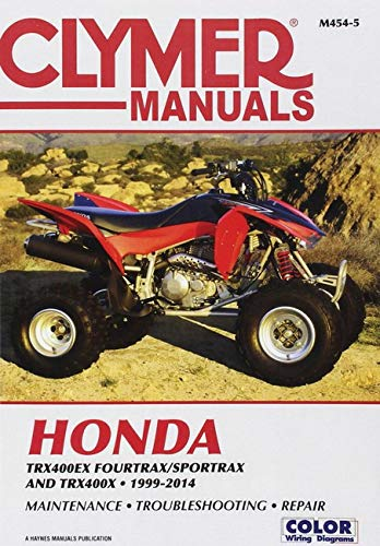 Clymer Honda TRX400Ex Fourtrax/Sportrax Clymer Motorcycle ...