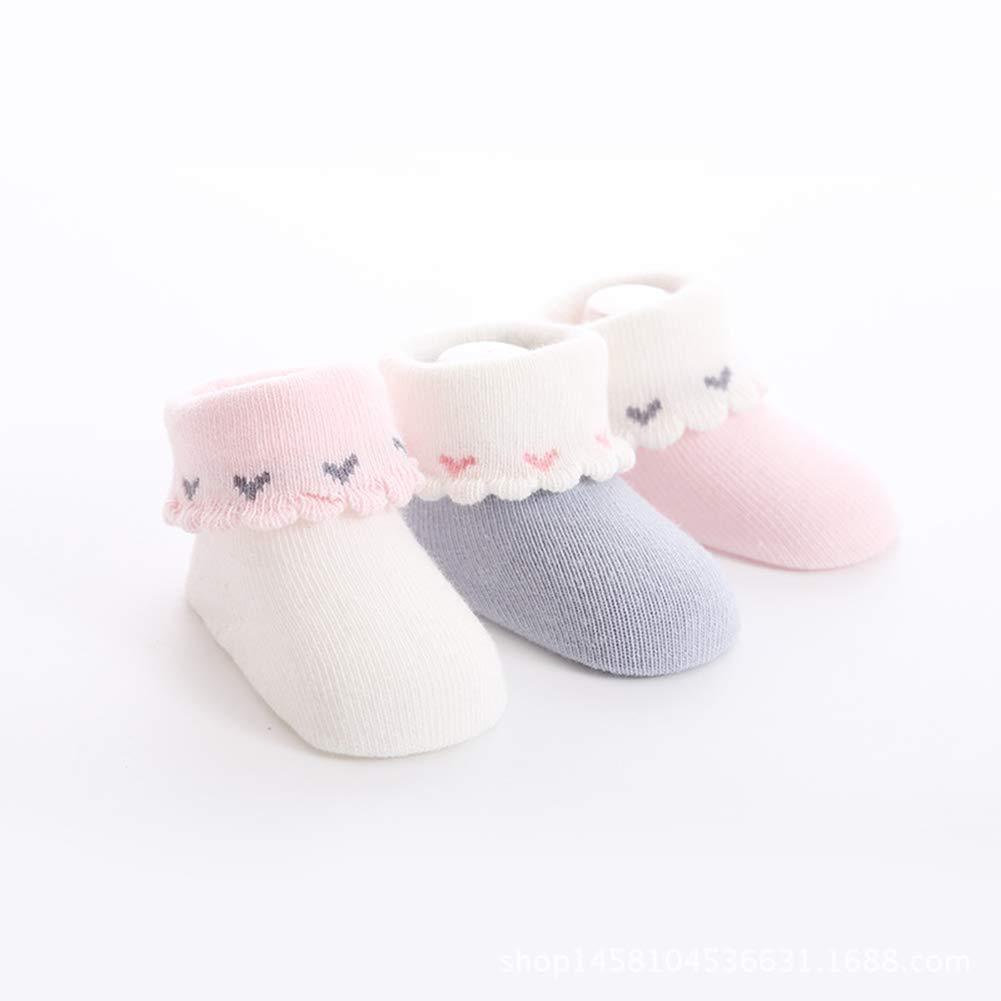 ESA Supplies 6 Pack Baby Socks Newborn 0-3 Months 3-6 Months 6-12 Months Unisex For Boys and Girls