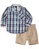 Nautica Boys 2Pc Woven Shirt & Short Set