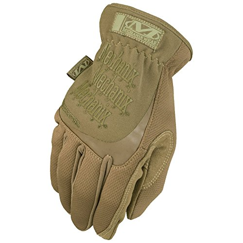 Fast 008 Fit Glove (Mechanix Wear - FastFit Coyote Tactical Gloves (Small, Brown))