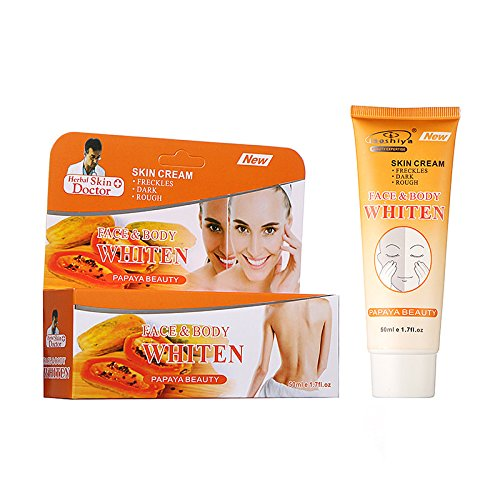 Fenleo Papaya Whitening Cream for Armpit – Skin Whitening Cream for Body, Face, Neck, Bikini and Sensitive Area Skin Brightening for Hyperpigmentation Treatment For Sale