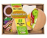Melissa & Doug Toys - Felt Food - Sandwich Set