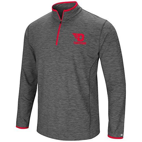 Nice Colosseum Mens Dayton Flyers Quarter Zip Wind Shirt supplier