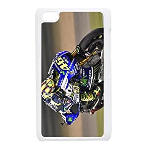 iPod Touch 4 Case White Valentino Rossi G9SS