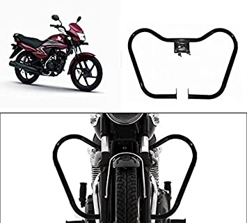 Speedwav Bike Safety Leg Guard Black Honda Dream Yuga