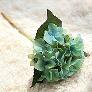 6 Pcs Artificial Flowers Vintage Silk Flowers Bouquet for Home Wedding Centerpieces Decor and DIY 83