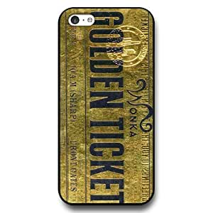 UniqueBox Willy Wonka Custom Phone Case for iPhone 5C, DC comics Willy Wonka Customized iPhone 5c Case, Only Fit for Apple iPhone 5C (Black Hard Shell)
