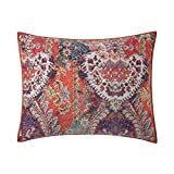 Poetic Wanderlust By Tracy Porter PQW2114SS-1100 Printed Velvet Standard Sham, (2'' x 26'')/Twin/Queen, Fiona