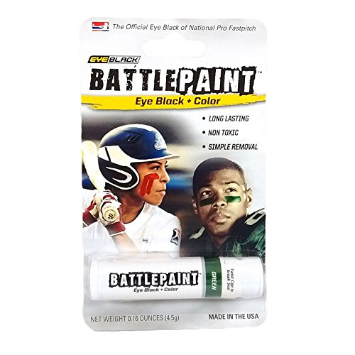 EyeBlack Green BattlePaint Eye Black Grease ()